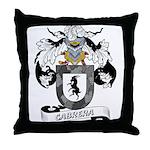 Cabrera Family Crest Throw Pillow