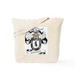 Cabrera Family Crest Tote Bag