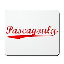 Vintage Pascagoula (Red) Mousepad