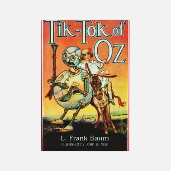 Tik - Tok Of Oz Rectangle Magnet