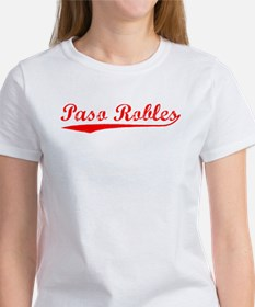 Vintage Paso Robles (Red) Women's T-Shirt