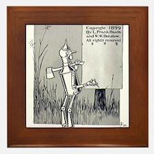 Tin Man Framed Tile