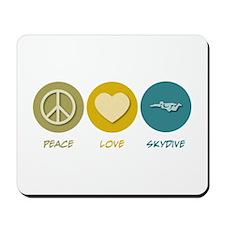 Peace Love Skydive Mousepad