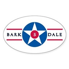 Barksdale Air Force Base Oval Decal