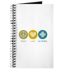Peace Love Ski Patrol Journal