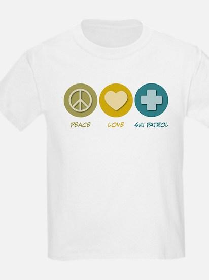 Peace Love Ski Patrol T-Shirt