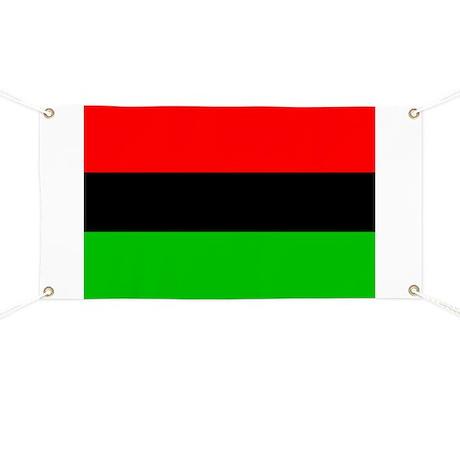 African American Flag Banner