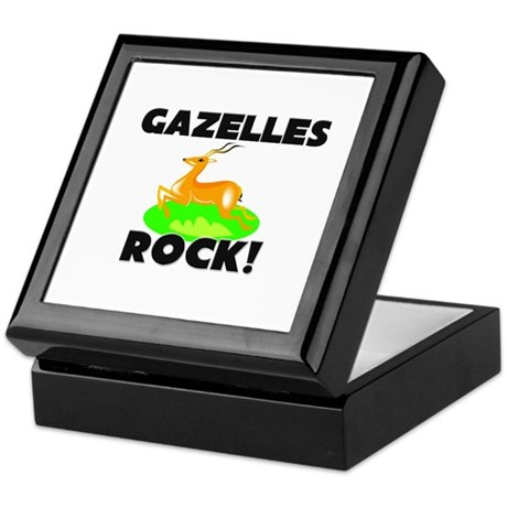 Gazelles Rock! Keepsake Box