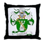 Cadena Family Crest Throw Pillow
