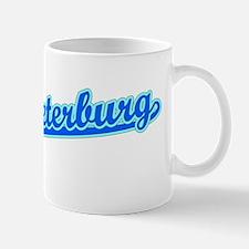 Retro Sankt-Peterb.. (Blue) Mug