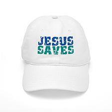 Jesus Saves Baseball Cap
