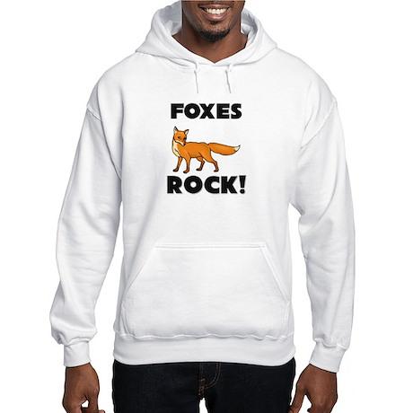 Foxes Rock! Hooded Sweatshirt