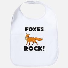 Foxes Rock! Bib