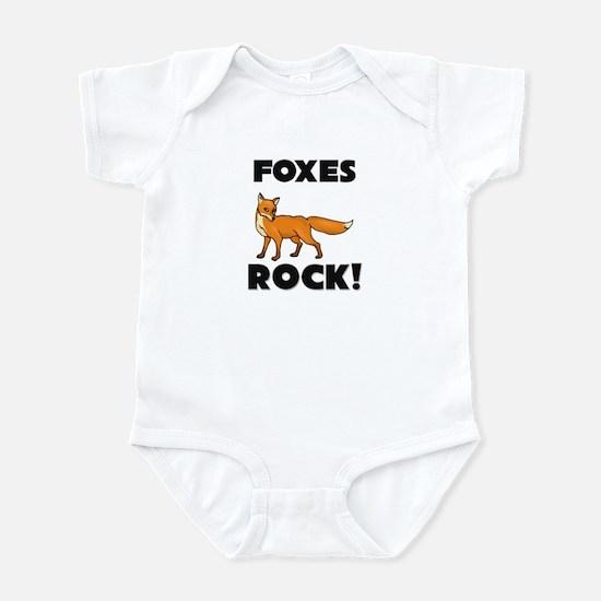 Foxes Rock! Infant Bodysuit
