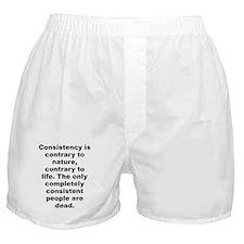 Huxley quote Boxer Shorts