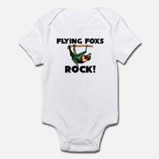 Flying Foxs Rock! Infant Bodysuit
