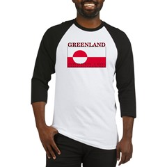 Greenland Greenlander Flag Baseball Jersey