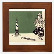 Wicked Witch Framed Tile