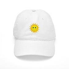 Smiling Mr. Sun Baseball Cap
