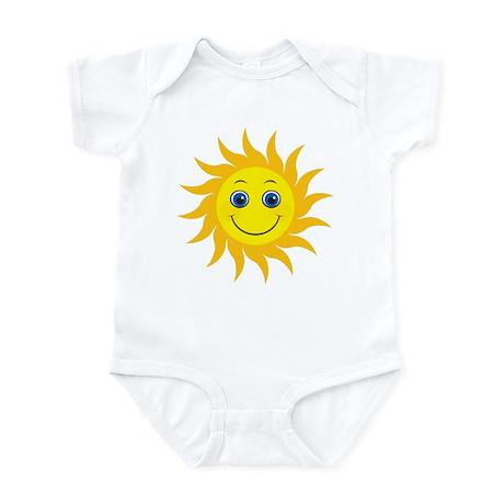 Smiling Mr. Sun Infant Bodysuit