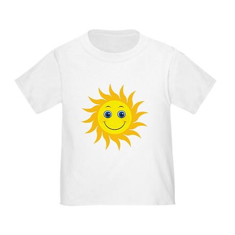 Smiling Mr. Sun Toddler T-Shirt