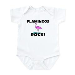 Flamingos Rock! Infant Bodysuit