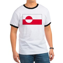 Greenland Greenlander Flag T