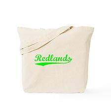 Vintage Redlands (Green) Tote Bag