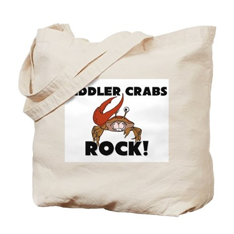 Fiddler Crabs Rock! Tote Bag