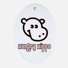 Hungy Hippo Collection Keepsake (Oval)