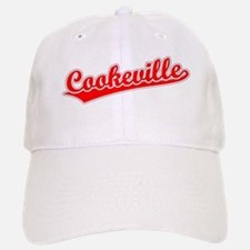 Retro Cookeville (Red) Baseball Baseball Cap