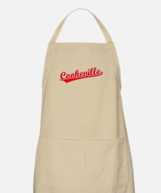Retro Cookeville (Red) BBQ Apron