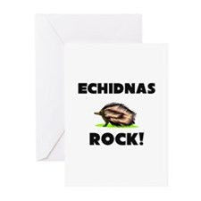 Echidnas Rock! Greeting Cards (Pk of 10)