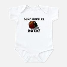 Dung Beetles Rock! Infant Bodysuit