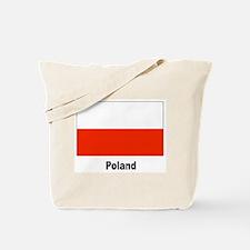 Poland Polish Flag Tote Bag
