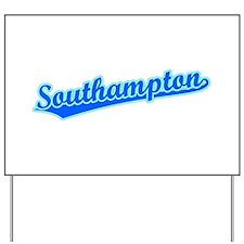Retro Southampton (Blue) Yard Sign