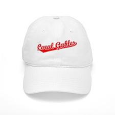 Retro Coral Gables (Red) Baseball Cap