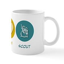 Peace Love Scout Mug