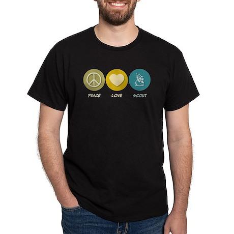Peace Love Scout Dark T-Shirt