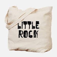 Little Rock Faded (Black) Tote Bag