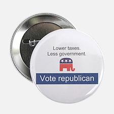 """Vote Republican 2.25"""" Button"""