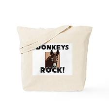 Donkeys Rock! Tote Bag