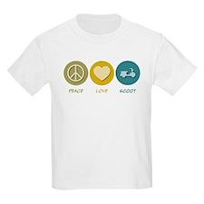 Peace Love Scoot T-Shirt