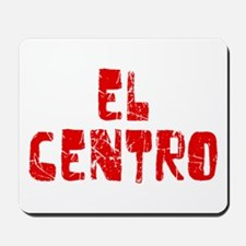 El Centro Faded (Red) Mousepad
