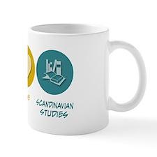 Peace Love Scandinavian Studies Mug