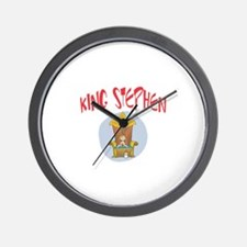 King Stephen Wall Clock
