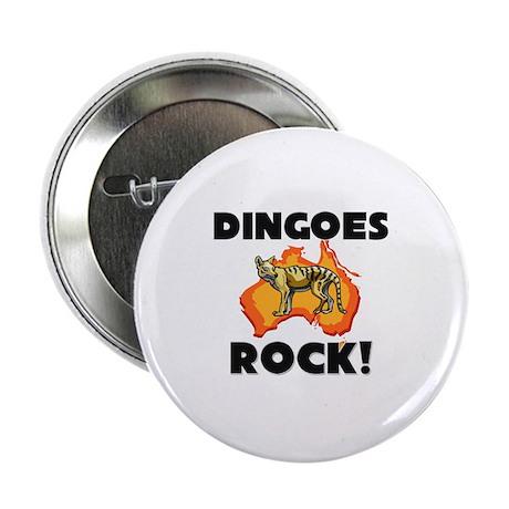 "Dingoes Rock! 2.25"" Button (10 pack)"