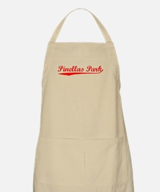 Vintage Pinellas P.. (Red) BBQ Apron