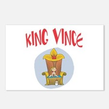 King Vince Postcards (Package of 8)