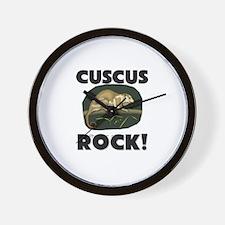 Cuscus Rock! Wall Clock